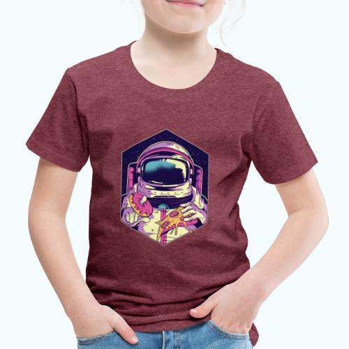 Fast food astronaut - Kids' Premium T-Shirt