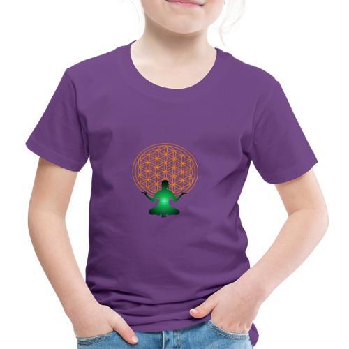 fleur de vie yoga n°4 - T-shirt Premium Enfant