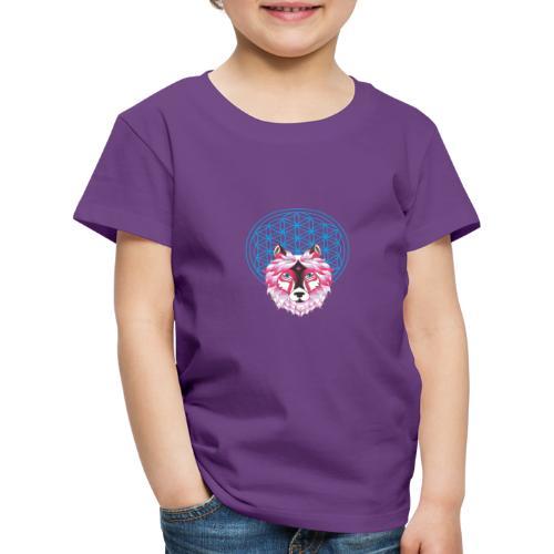 fleur de vie loup n°1 - T-shirt Premium Enfant