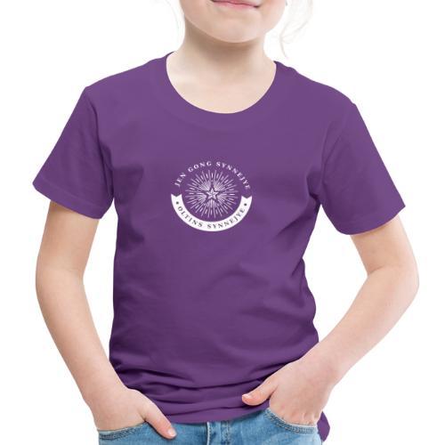 Jen Gong synnejye... Oltins synnejye! - Børne premium T-shirt