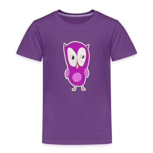 Astrids ugle - Børne premium T-shirt