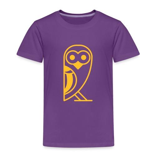 Eule Schneeeule - Kinder Premium T-Shirt
