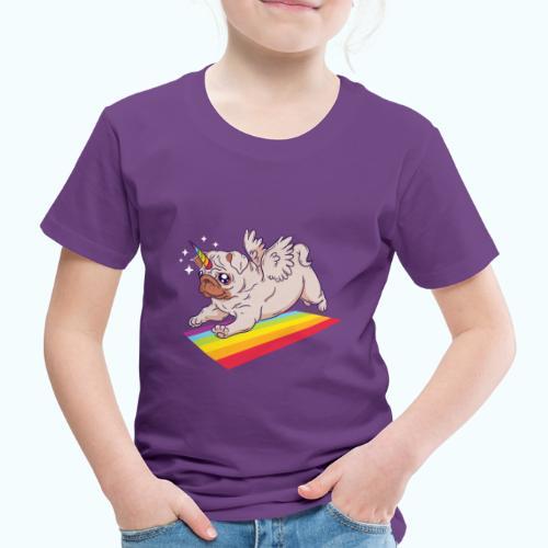 Unicorn Pug Limited Edition - Kids' Premium T-Shirt