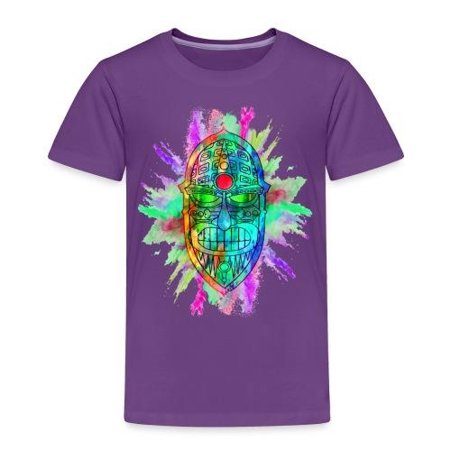 Watercolour Tiki Mask - Kids' Premium T-Shirt