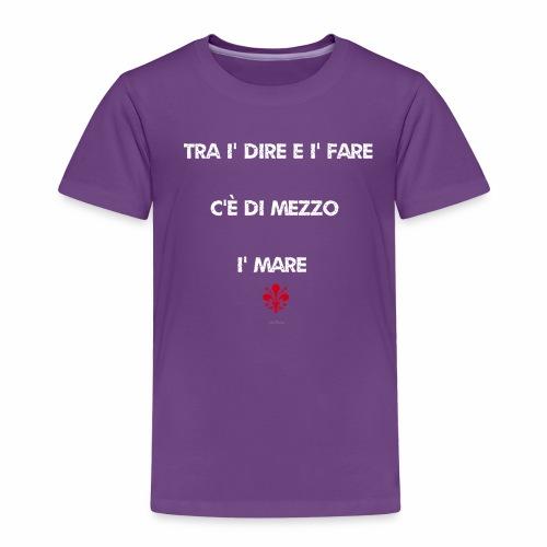 Vernacolo fiorentino - ODIFacto design - Maglietta Premium per bambini