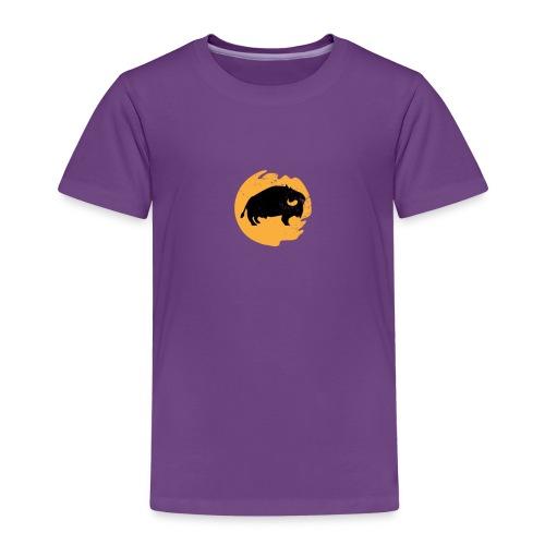 Bison Büffel - Kinder Premium T-Shirt