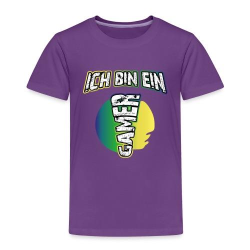 Ich bin ein Gamer | Lustige Nerd Gaming Sprüche - Kinder Premium T-Shirt