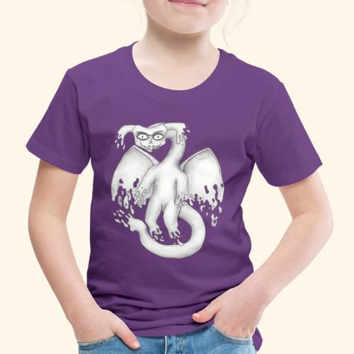 Spökdrake - Premium-T-shirt barn