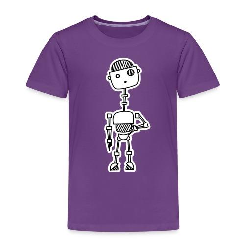 robot 001 02 - Kinderen Premium T-shirt