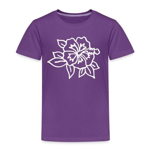 hibiskus - Kinder Premium T-Shirt