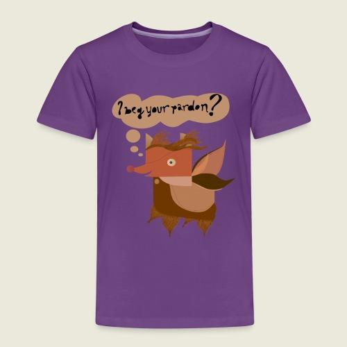 """""""I Beg Your Pardon?"""" Creature - Kids' Premium T-Shirt"""