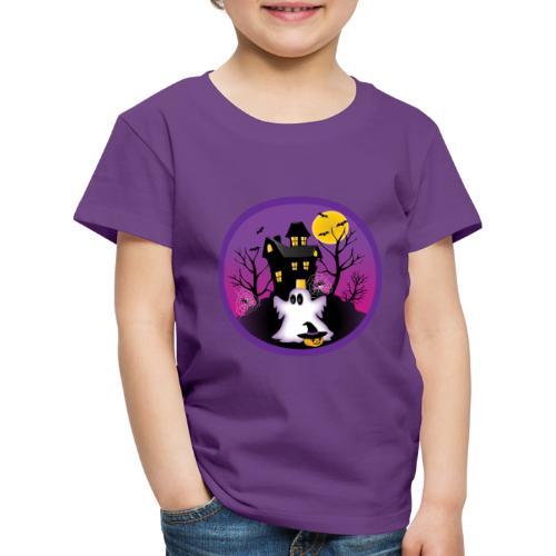 Spooky Halloween Ghost - Kids' Premium T-Shirt