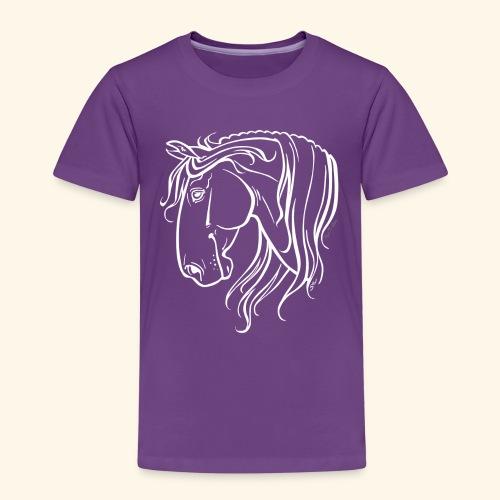 Cheval espagnol (blanc) - T-shirt Premium Enfant