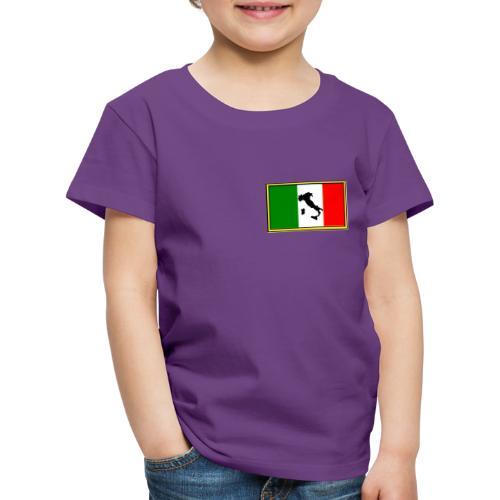 Bandiera Italiana2 - Maglietta Premium per bambini