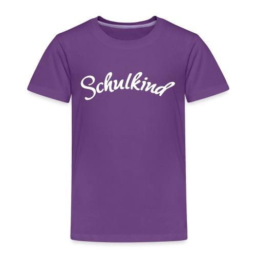 Schulkind, Schulanfang, Spruch - Kinder Premium T-Shirt
