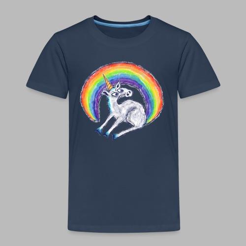 Reluctant Rainbow - Kids' Premium T-Shirt