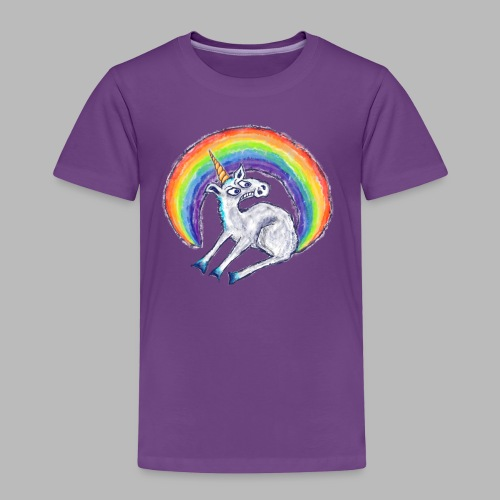 Reluctant Rainbow - Kids' Premium T-Shirt