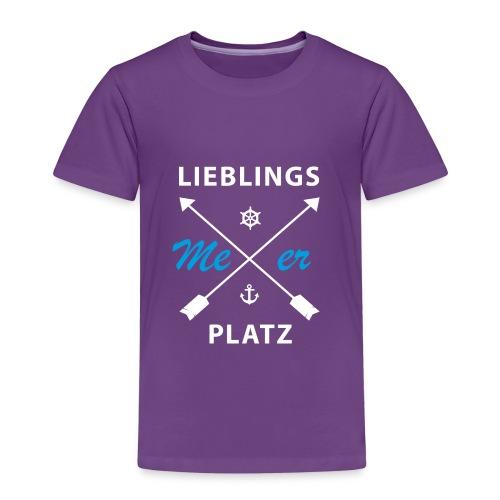 Lieblingsplatz Meer - Kinder Premium T-Shirt