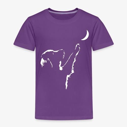 dog moon - Kinder Premium T-Shirt