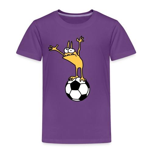 Kobold mit Fußball - Kids' Premium T-Shirt