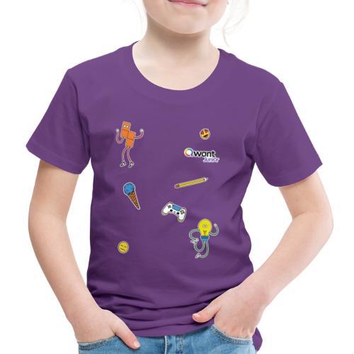 QWANT JUNIOR PACO - T-shirt Premium Enfant