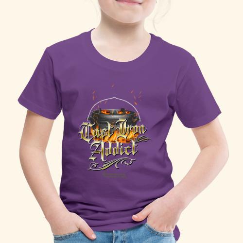 Cast Iron Addict - Kinder Premium T-Shirt