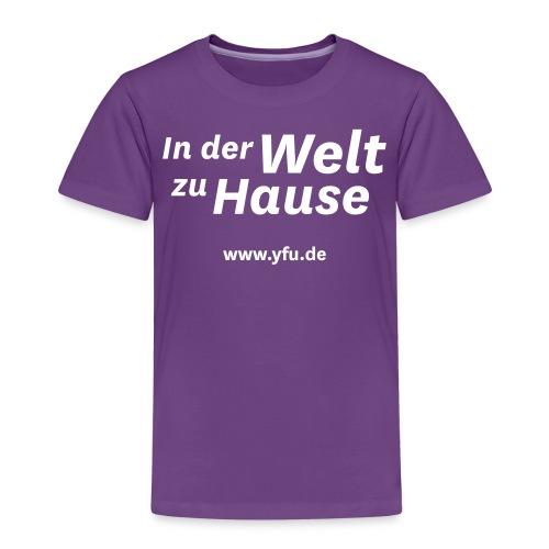 YFU_Logo_RS_weiss - Kinder Premium T-Shirt