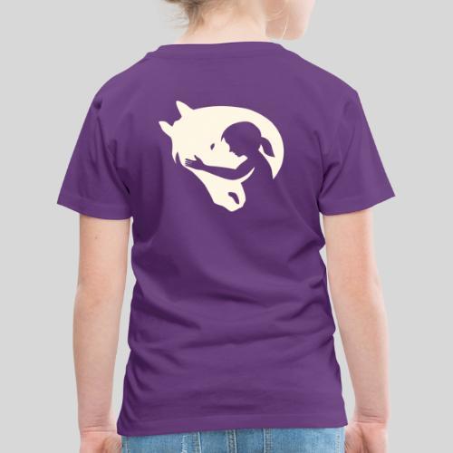 Seelenpferd beige - Kinder Premium T-Shirt