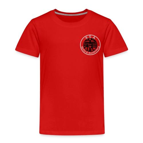 Schrift_hoch_groß - Kinder Premium T-Shirt