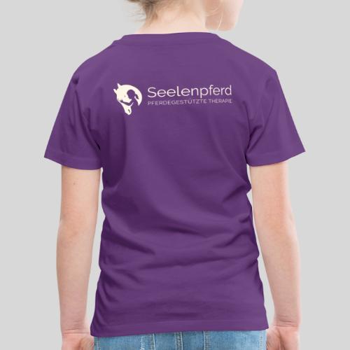 Seelenpferd Logo beige - Kinder Premium T-Shirt