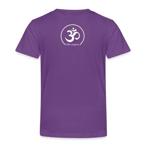 tee shirt yoga je vis le moment présent - T-shirt Premium Enfant