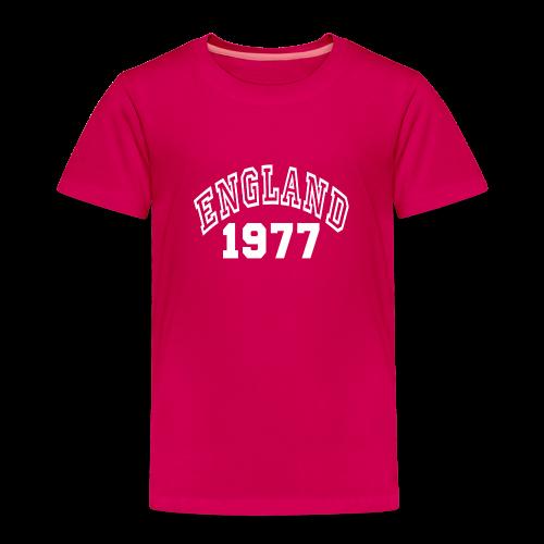 England - Camiseta premium niño