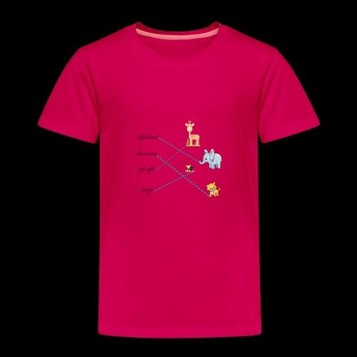 animaux de la savane. - T-shirt Premium Enfant