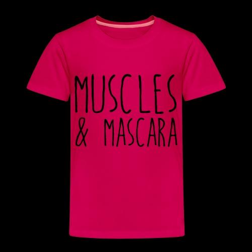 muscles & mascara - Kinder Premium T-Shirt