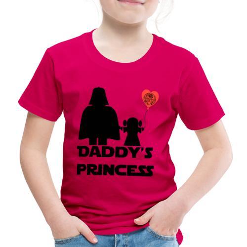 daddys princess - Camiseta premium niño