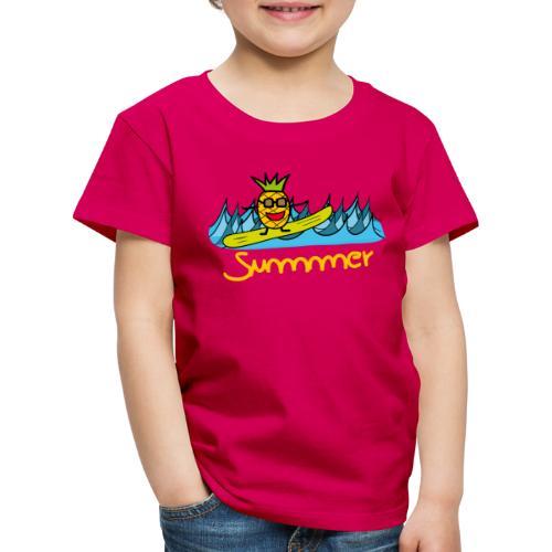 Ananas Summer - Kinder Premium T-Shirt