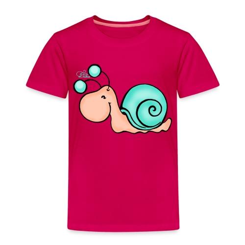 Schnucki Schneck - Kinder Premium T-Shirt
