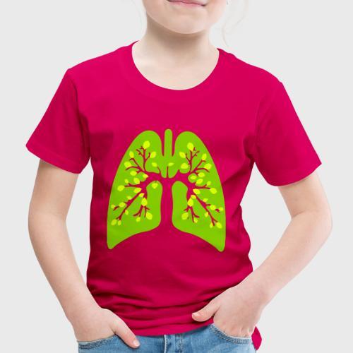 Poumon vert - T-shirt Premium Enfant
