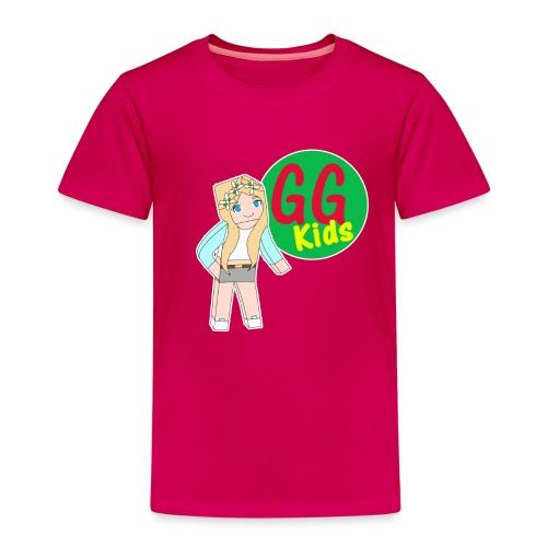 Jasmine and logo - Kids' Premium T-Shirt