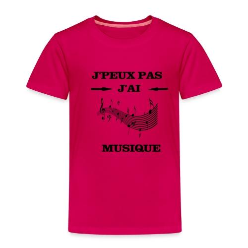 JPEUX PAS J'AI MUSIQUE - T-shirt Premium Enfant