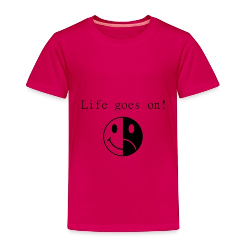 Life goes on - Premium-T-shirt barn