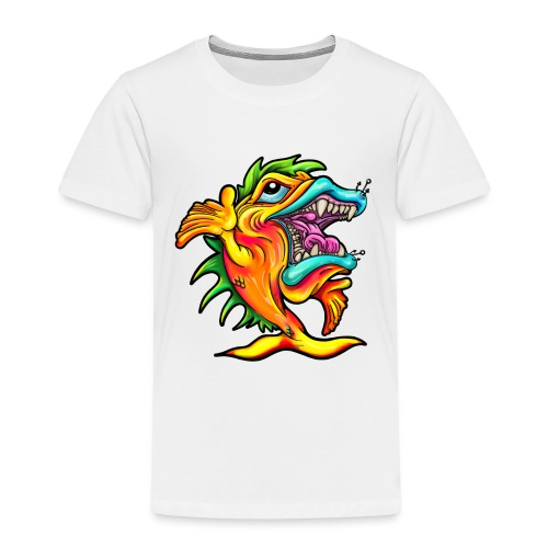 Rock & Roll Singing Fish - Kids' Premium T-Shirt