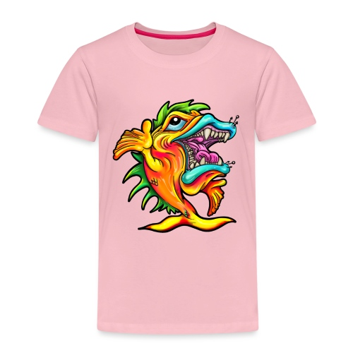 Rock & Roll Singing Fish - Kids' Premium T-Shirt