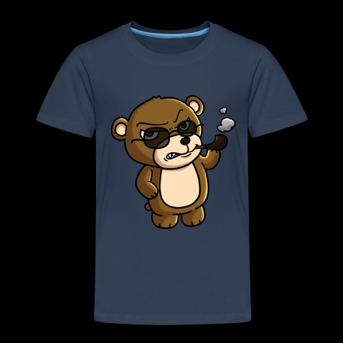 AngryTeddy - Kids' Premium T-Shirt