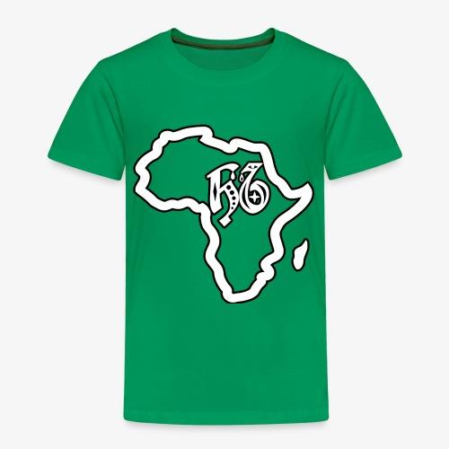 afrika pictogram - Kinderen Premium T-shirt