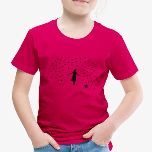 Slackline in the stars - Kids' Premium T-Shirt