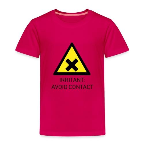 Irritant: Avoid Contact - Kids' Premium T-Shirt