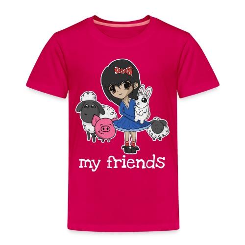Vegan Company Girlie Design - Kinder Premium T-Shirt