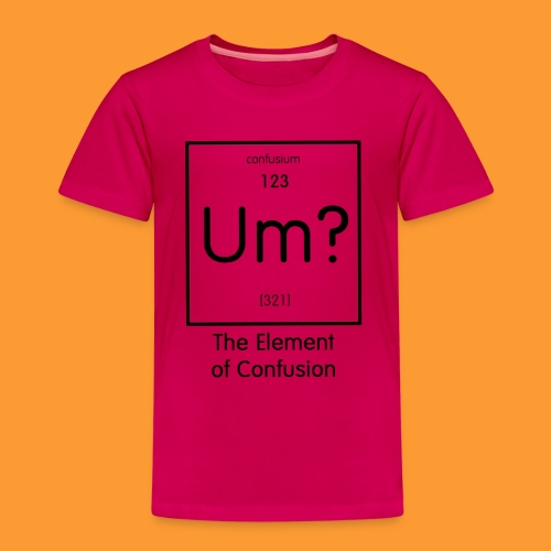 element of confusion - Kids' Premium T-Shirt