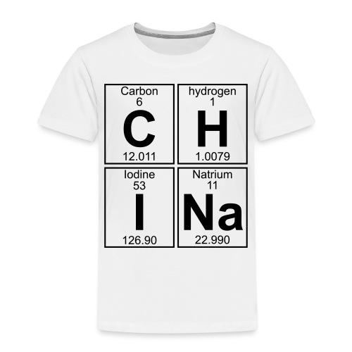 C-H-I-Na (china) - Full - Kids' Premium T-Shirt